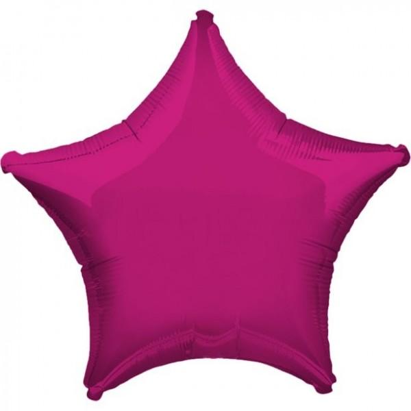 Folienstern pink, ca. 45 cm