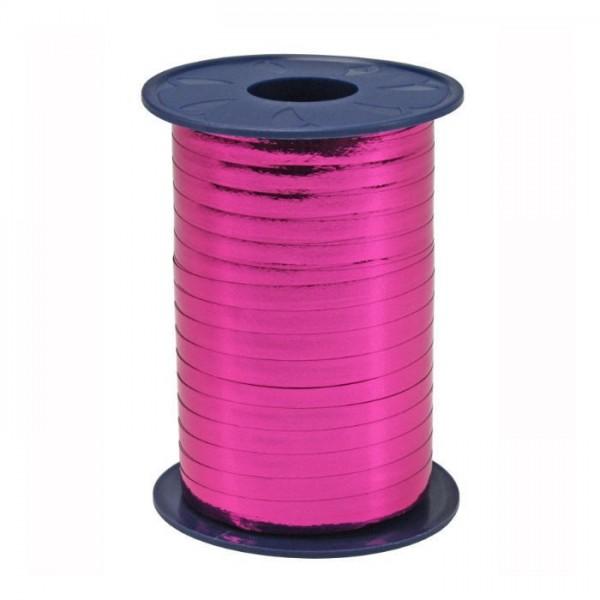 Polyband, pink, Metallic, 400 Meter-Rolle