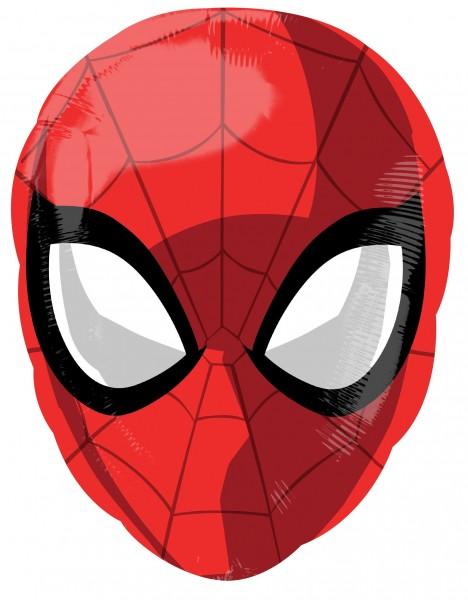 Folienballon Spiderman Kopf, ca. 50