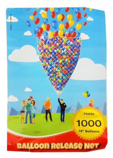 Ballonnetz Ballonmassenstart, 1000er