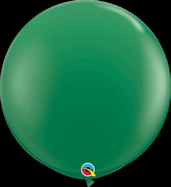 Riesenballon Qualatex, ca. 90 cm, green/grün