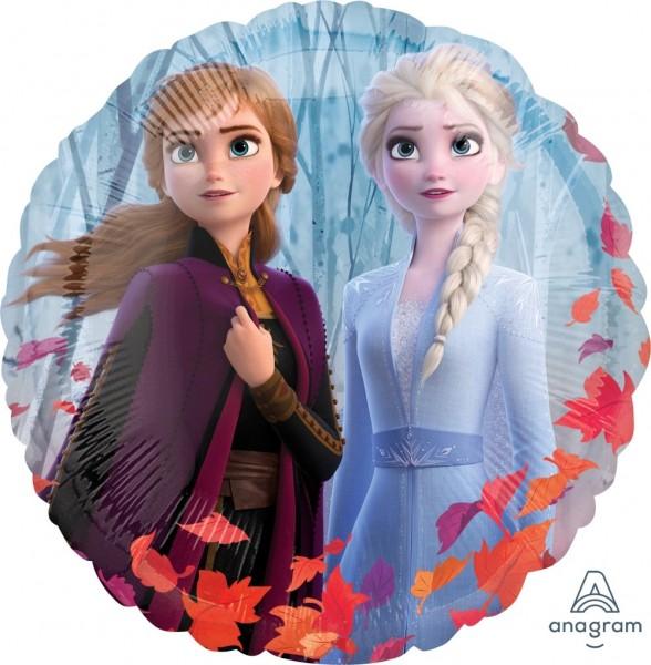 Ballongruß: Frozen 2, Anna Elsa Olaf , ca. 45 cm